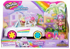 Shopkins Happy Places Rainbow Beach Convertible – $11.92 – Best Price!
