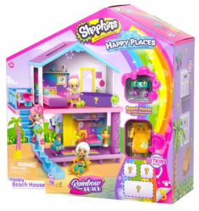Shopkins Happy Places Rainbow Beach House Playset Only $12.26! Lowest Price!