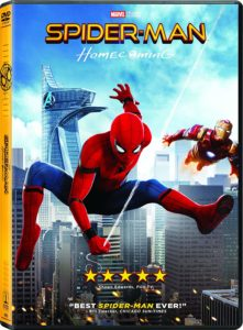 Spider-Man: Homecoming DVD Only $3.96! Stocking Stuffer!