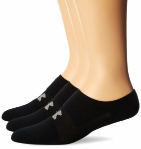 Under Armour Men's HeatGear Solo No-Show Socks (3 Pairs) Only $5.34!
