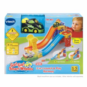VTech Go! Go! Smart Wheels 3-in-1 Launch and Play Raceway – $10.99 – Best Price!