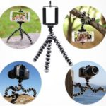 Tripod Phone Stand with Bluetooth Camera Remote Only $8.99!
