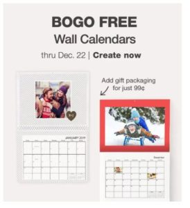 BOGO FREE Calendars at Walgreens!