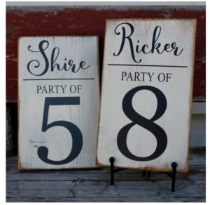 Custom Family Party of Sign was $30, NOW $14.95!