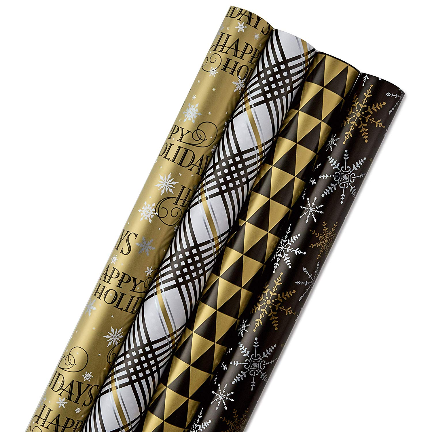 Hallmark Reversible Christmas Wrapping Paper Bundle Only ...