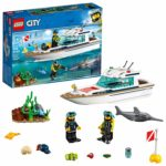 LEGO City Great Vehicles Diving Yacht Building Kit Only $15.99! Lowest Price!
