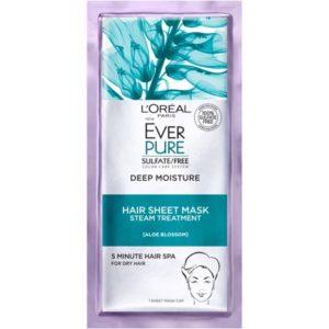 Walmart: L'Oreal Paris EverPure Hair Sheet Mask 2-Pack Only $2.15!