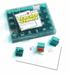 Learning Resources Jumbo Teacher Stamps was $19.99, NOW $10.50!