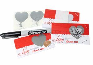 Love Notes Scratch Off Cards – DIY Kit – 25 pack Only $12.99!