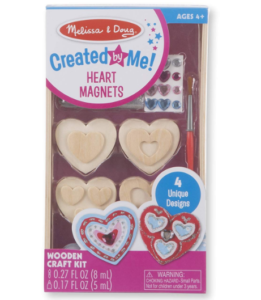 Melissa & Doug Wooden Heart Magnets Kit Only $4.35!