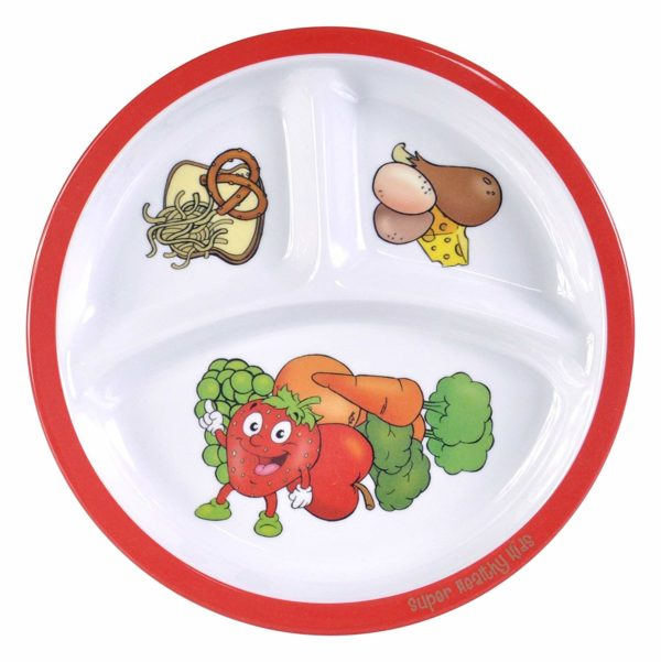 Kids Portion Control Plate