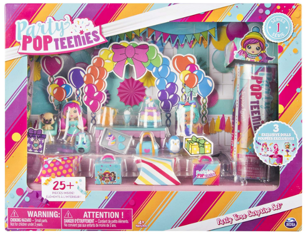 Party Popteenies Party Time Surprise Set Only $4.07!