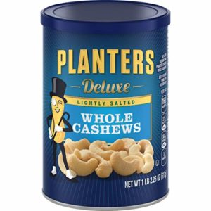 Planters Deluxe Whole Cashews 18.25 oz Canister as low as $6.05 Shipped!