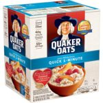 Quaker Oats Quick 1-Minute Oatmeal, Two 40oz Bags as low as $4.75!