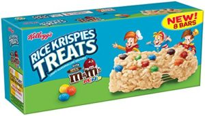 Rice Krispies Treats M&M Minis 8 Count Only $2.50!