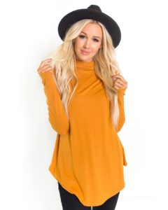 Rylan High Neck Long Sleeve Tunic was $33.95, NOW $16.95!