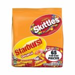 Skittles & Starburst Fun Size Variety Mix 65 Pieces as low as $5.19!