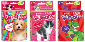 Scratch and Sniff Valentines – 28 Card Pack – as low as $6.86!
