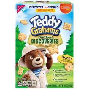 Teddy Grahams Outdoor Discoveries Honey Graham Snacks Only $1.61!
