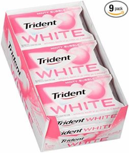 Trident White Sugar Free Gum 9-packs as low as $4.28 Shipped! ($0.48/pack)