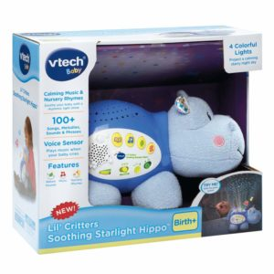VTech Baby Lil' Critters Soothing Starlight Hippo was $25.99, NOW $15.99!