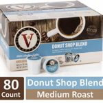 Victor Allen Donut Shop Blend Single Serve K Cups, 80 Count as low as $18.55 Shipped! ($0.23/cup)