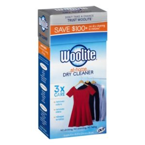 Walmart: Woolite At Home Dry Cleaner Only $3.88!