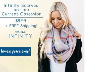 Cents of Style Infinity Scarf Sale – ONLY $9.99 Shipped! (was $24.95)