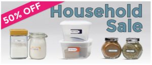 Save 50% on Household Labels from Mabel's Labels!