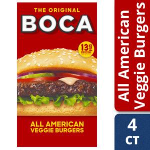 Walmart: BOCA Veggie Products as low as $2.29!