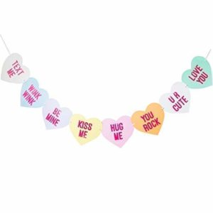 Conversation Candy Hearts Banner Only $9.99!