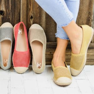 Darling Pinhole Espadrille Flats was $64.99, NOW $23.99!