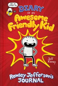 Pre-Order Diary of an Awesome Friendly Kid: Rowley Jefferson's Journal – $12.59!