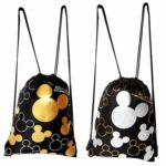 Disney Mickey Mouse Drawstring Backpack 2 Pack Only $8.99!