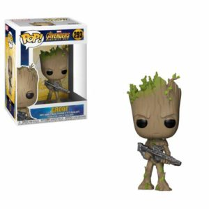 Funko POP! Marvel: Avengers Infinity War – Teen Groot with Gun Only $5.99!