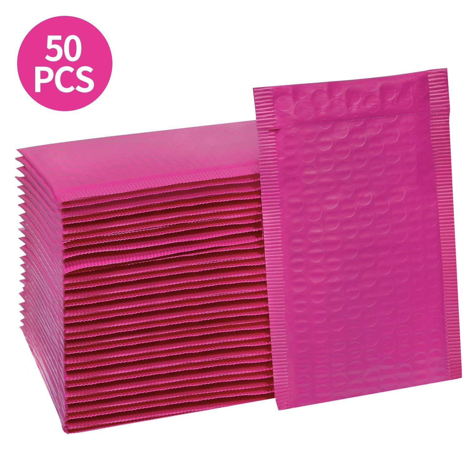 Hot Pink Padded Envelopes, Pack of 50 as low as $5.93!