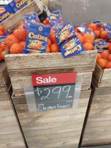 Target: Cuties Mandarins 3lbs Only $1.99!