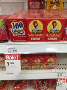 Target: Sun-Maid Raisins as low as $1.63!