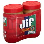 Jif Creamy Peanut Butter, 40 Ounce (Pack of 2) as low as $8.49 Shipped!
