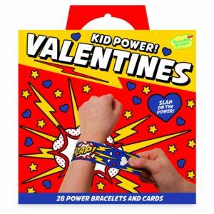 Kid Power Bracelet Valentines – 28 Card Pack – $14.99!