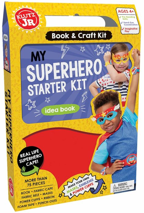 Klutz Jr. My Superhero Starter Kit