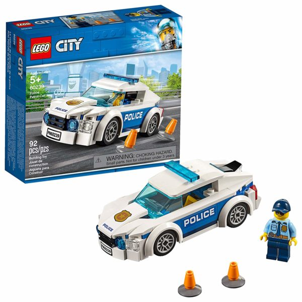 LEGO City Police Patrol Car Building Kit
