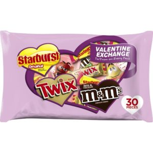 M&M'S, STARBURST & TWIX Valentine Exchange Fun Size Candy Only $3.99!