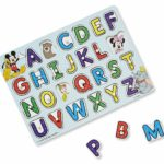 Alphabet Wooden Peg Puzzle Only $5.88!