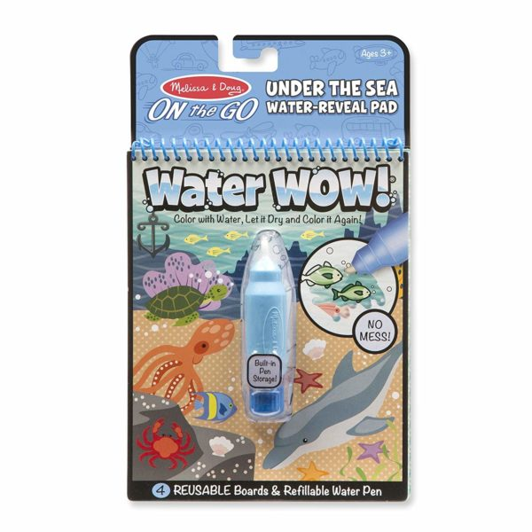 Water-Reveal Activity Pad