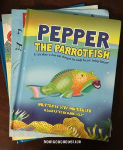 Pepper The Parrotfish Book Review + $5 OFF Promo Code!
