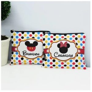 Personalized Mickey and Minnie Bags was $22.99, NOW $9.99!