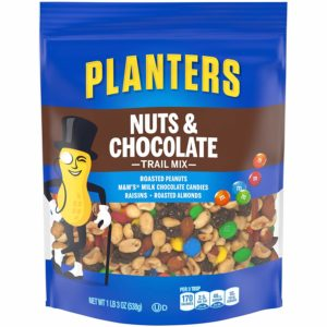 Planters Trail Mix, Nuts & Chocolate M&M's, 19 Ounce Bag Only $4.65!!