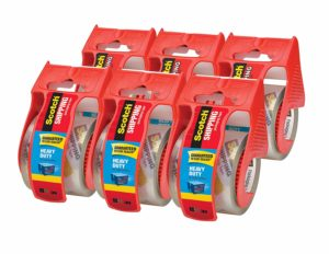 Scotch Heavy Duty Shipping Packaging Tape, 6 count Only $10.61 Shipped!