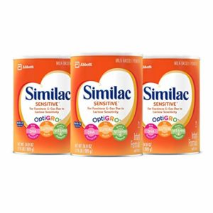 *HOT* Similac Sensitive Infant Formula with Iron, Powder, 2.18 lb (Pack of 3) as low as $42.26 Shipped!